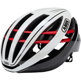 ABUS Aventor Road Helmet blaze red